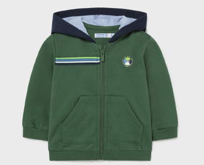 Mayoral mayoral zip hoodie