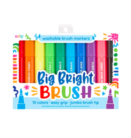ooly big bright brush markers (set of 10)