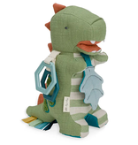 Itzy ritzy itzy ritzy dino activity plush with teether