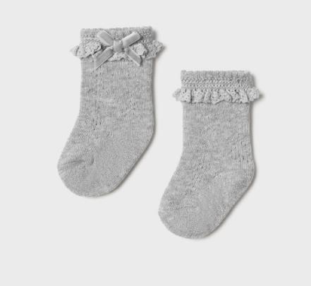 Mayoral mayoral lace top socks