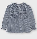 Mayoral mayoral smocked blouse
