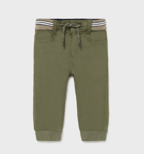 Mayoral mayoral twill joggers