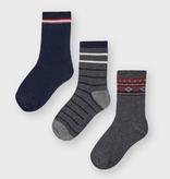 Mayoral mayoral 3 pack of socks