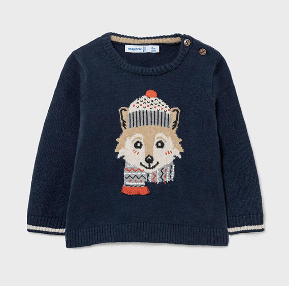 Mayoral mayoral fox sweater
