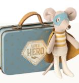 Maileg maileg superhero mouse in suitcase
