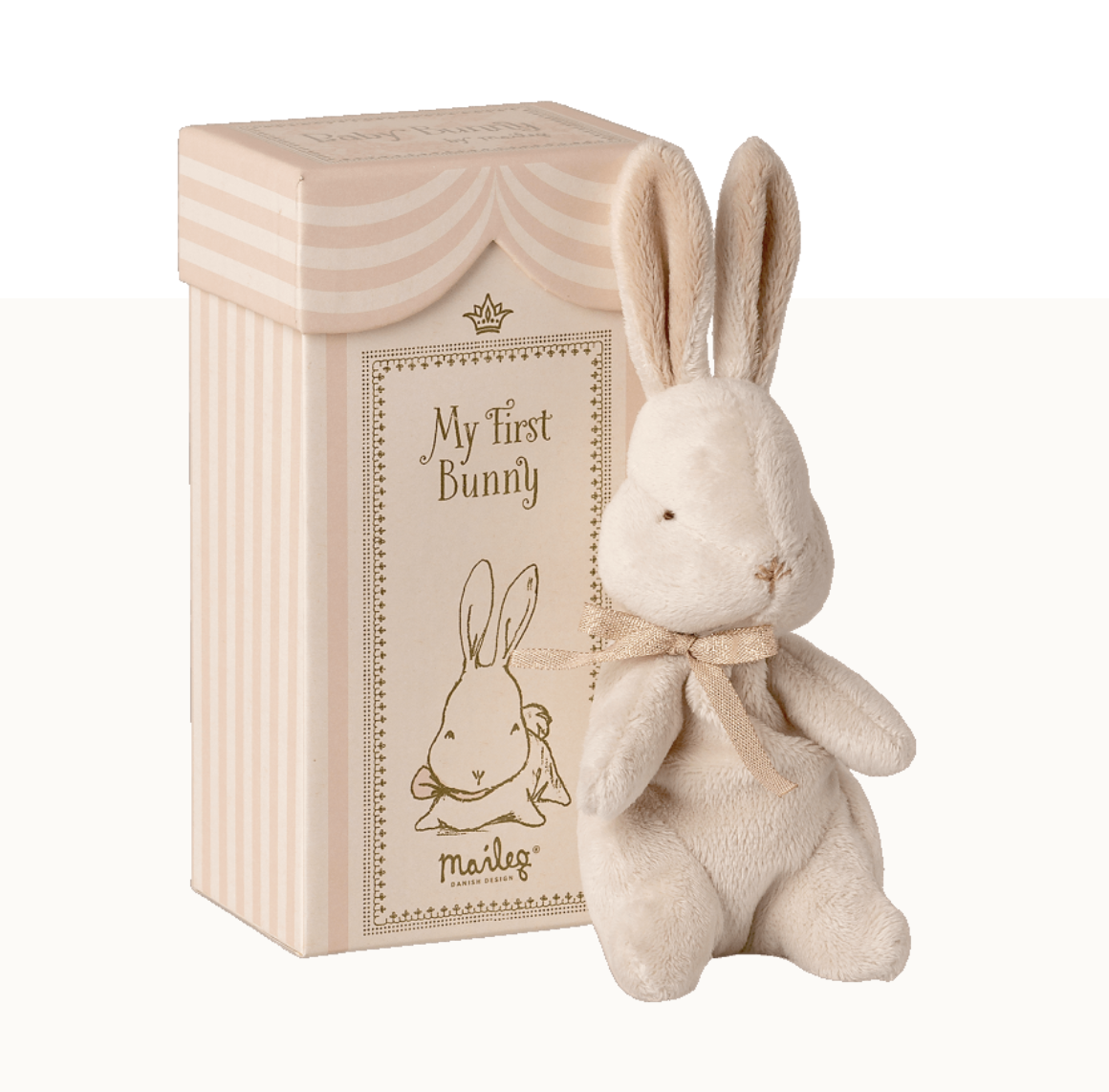Maileg maileg my first bunny in box, dusty rose