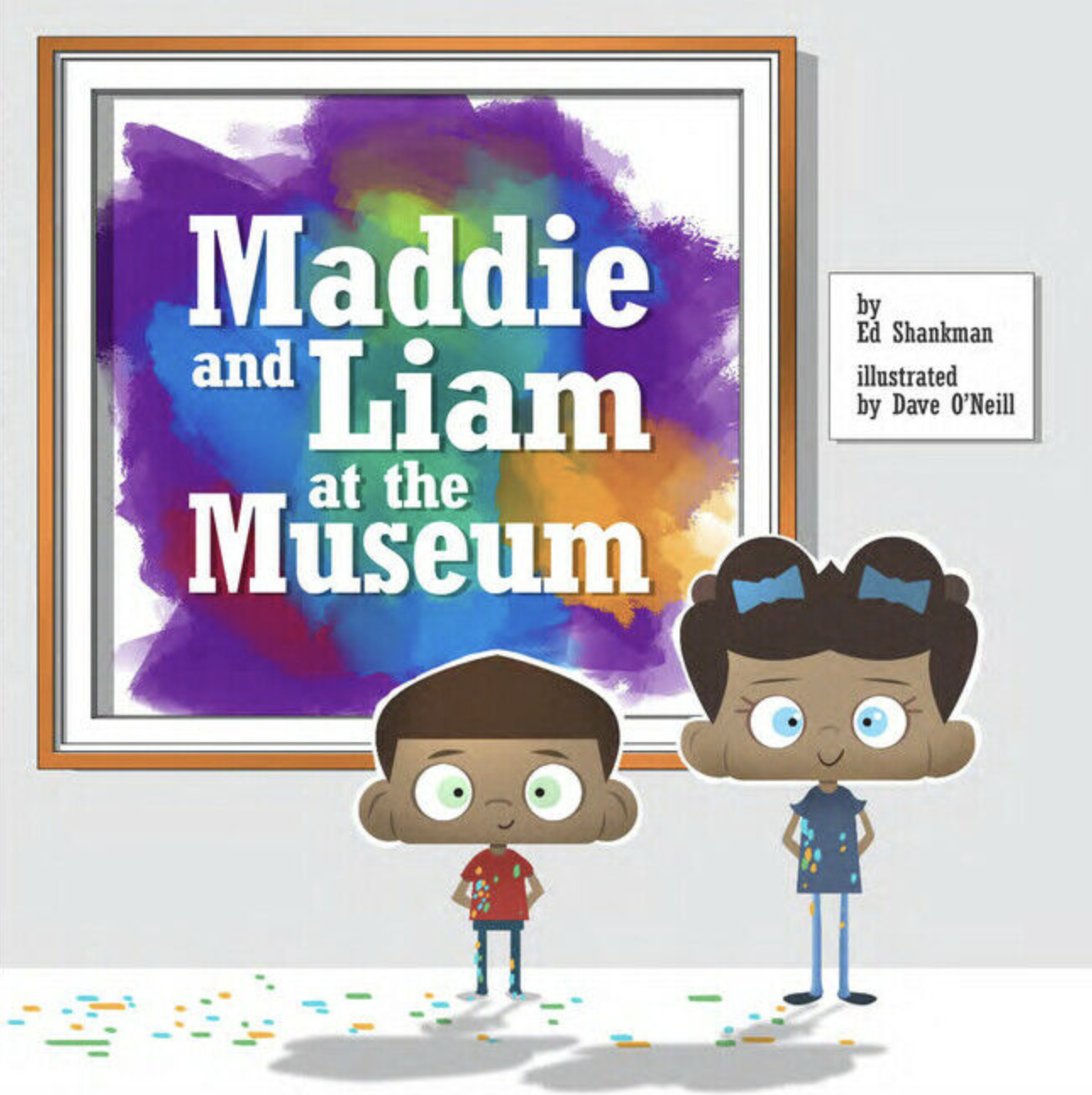 applewood books (faire) maddie and liam at the museum