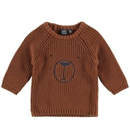 Babyface babyface brown bear sweater