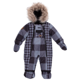 Nano Kids Noruk Plaid Snowsuit (T)