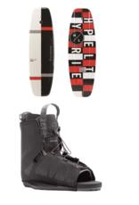 HO Sports Hyper 140 Motive WakeBoard (A) w/Hyper Frequency WakeBoard Boot OSFA