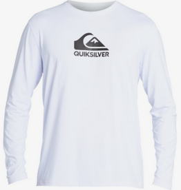 Boardriders Quiksilver Solid Streak Long Sleeve UPF 50 Surf T-Shirt  (M)