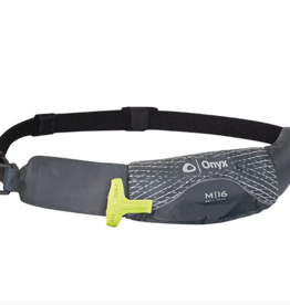 Onyx/Absolute Outdoor Inc. Onyx M-16 Manual Inflatable Belt Pack-Grey (A) 2016