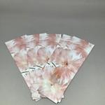 Custom Works Feather Flowers Bookmark Card (1) - Glenda Nicholls