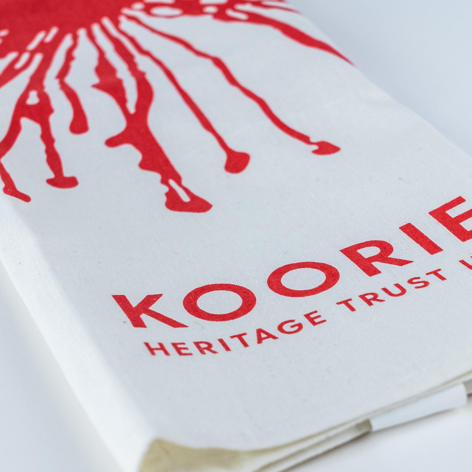 Koorie Heritage Trust Tea Towel - KHT