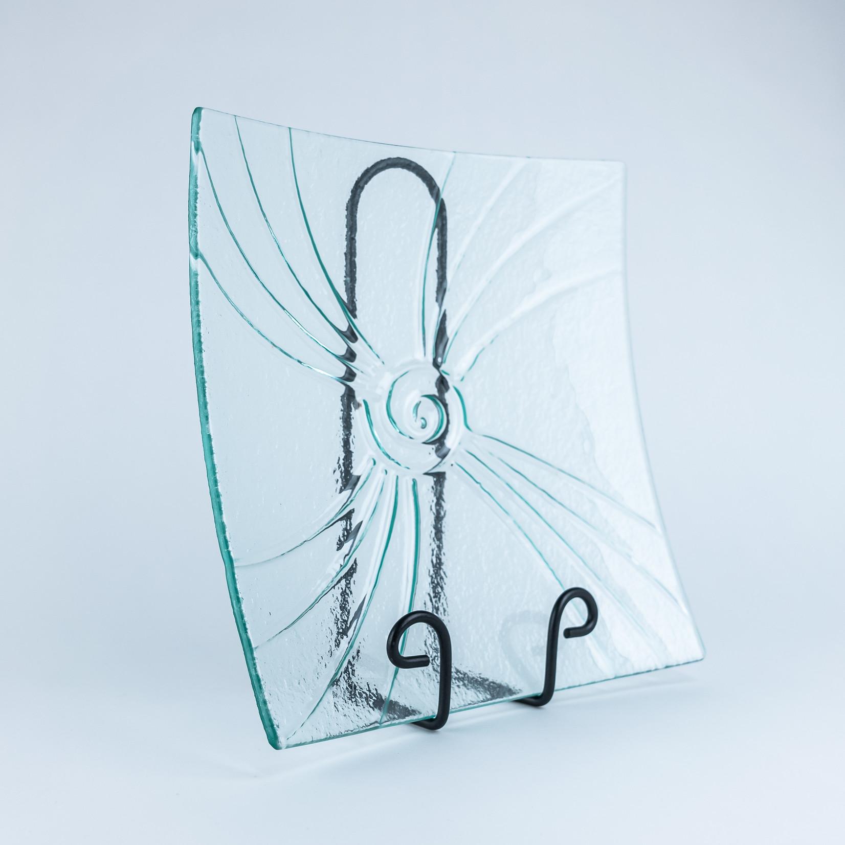 Wathaurong Glass & Arts Wathaurong Glass Platter - Medium