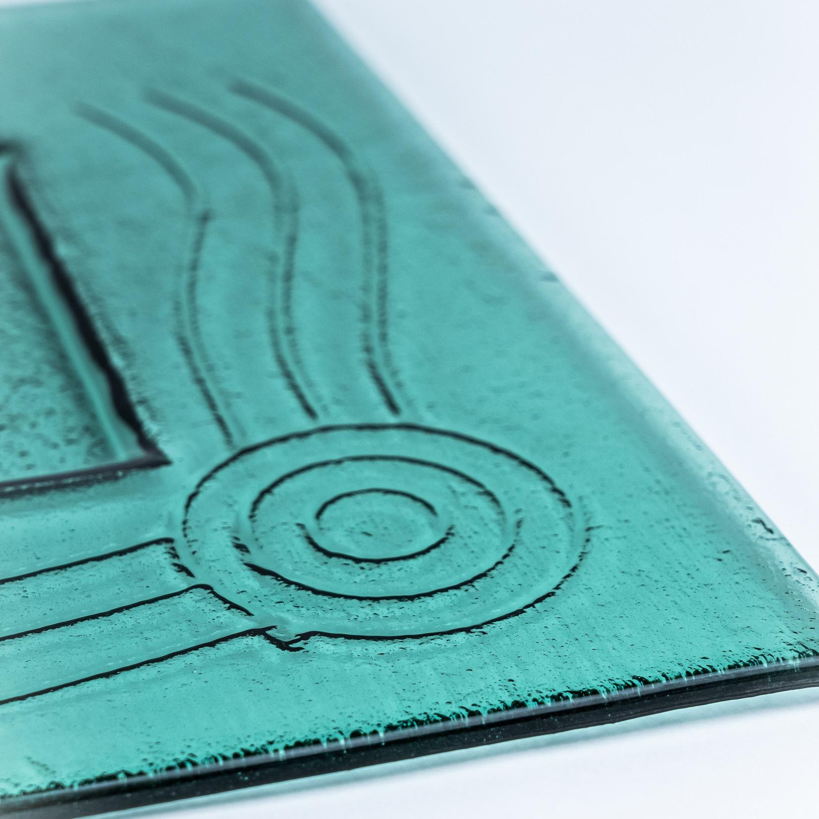Wathaurong Glass & Arts Wathaurong Glass Platter - Large