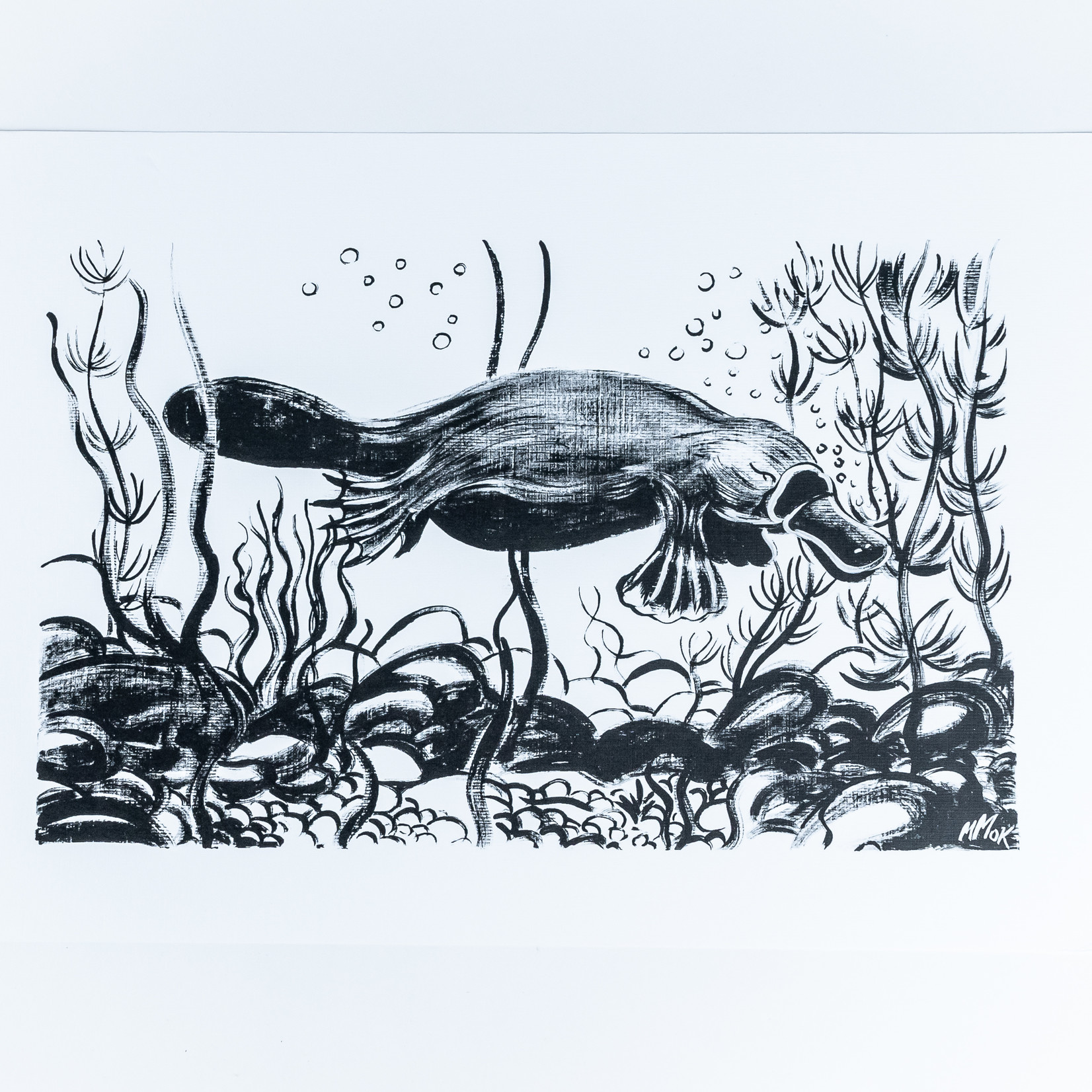 Miss Emily Aboriginal Art A3 Prints - Miss Emily