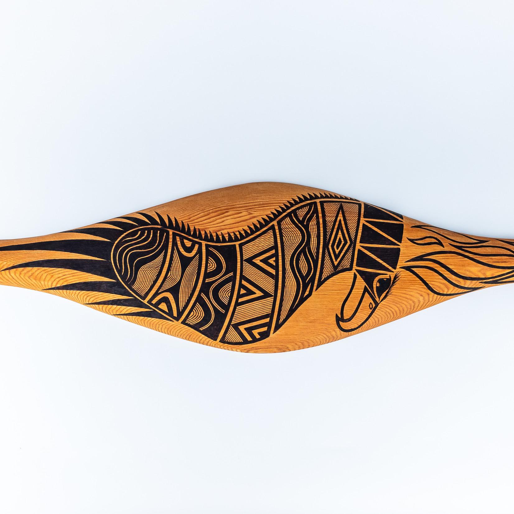 Ngarga Warendj Pty Ltd Ooak Bunjil Shield - Ngarga Warendj