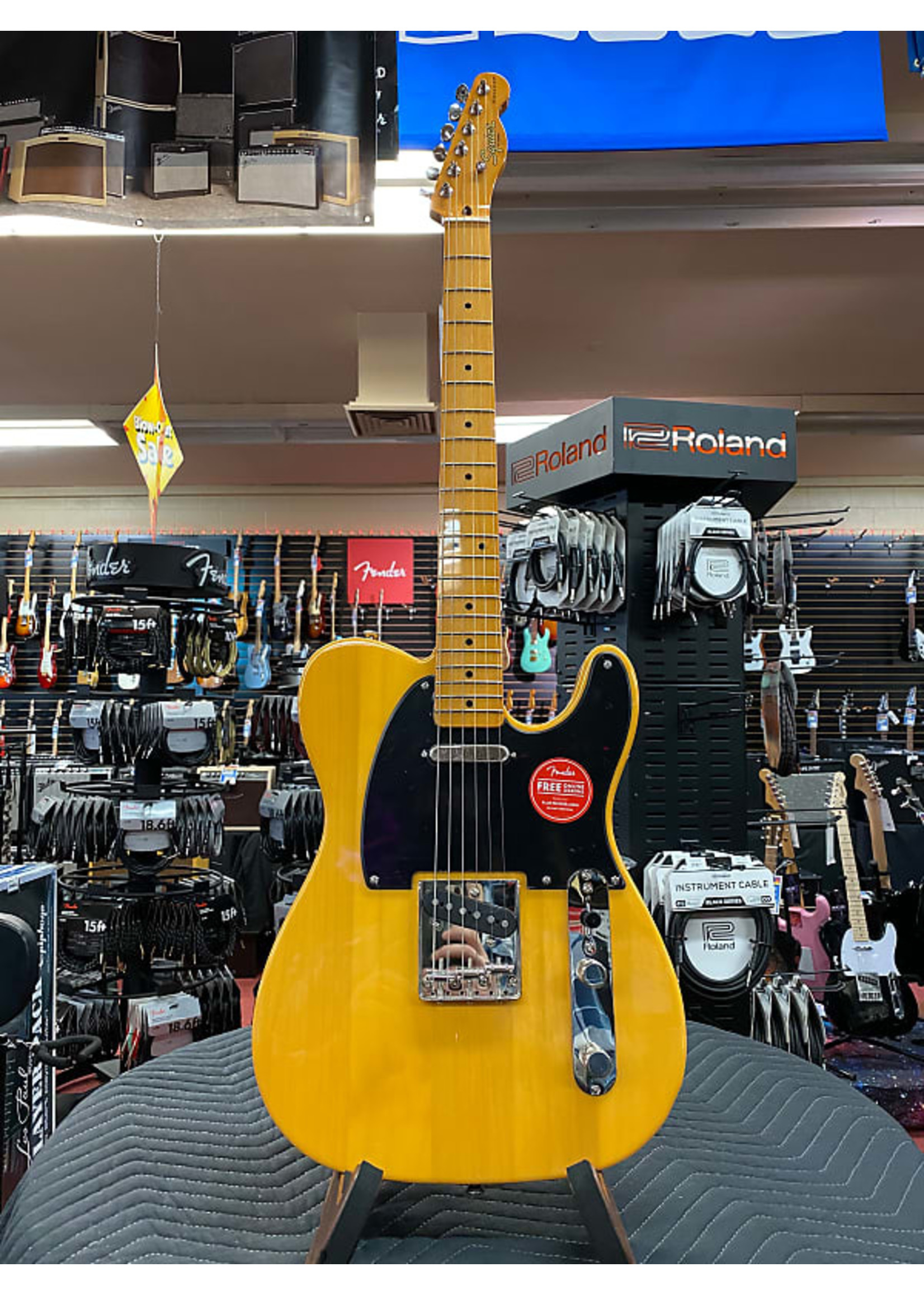 Squier Squier Classic Vibe '50s Telecaster®, Maple Fingerboard, Butterscotch Blonde