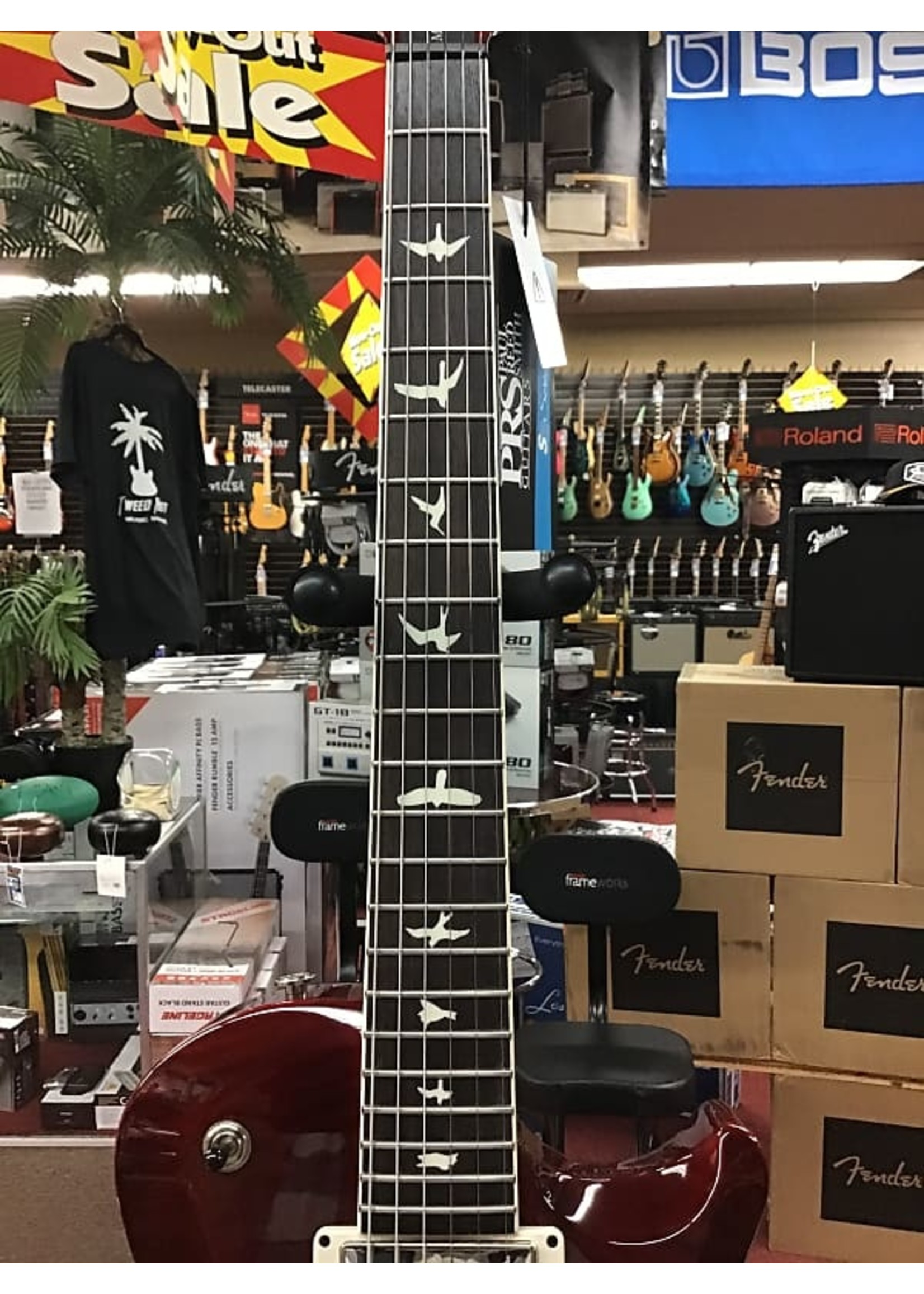 Paul Reed Smith PRS S2 McCarty 594 Singlecut Electric Guitar - Dark Cherry Sunburst