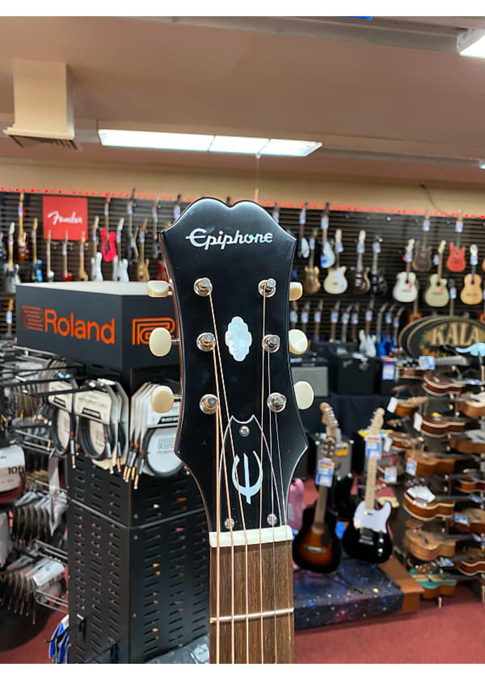 Epiphone Epiphone Masterbilt Texan Acoustic-Electric Guitar - Antique Natural Aged Gloss