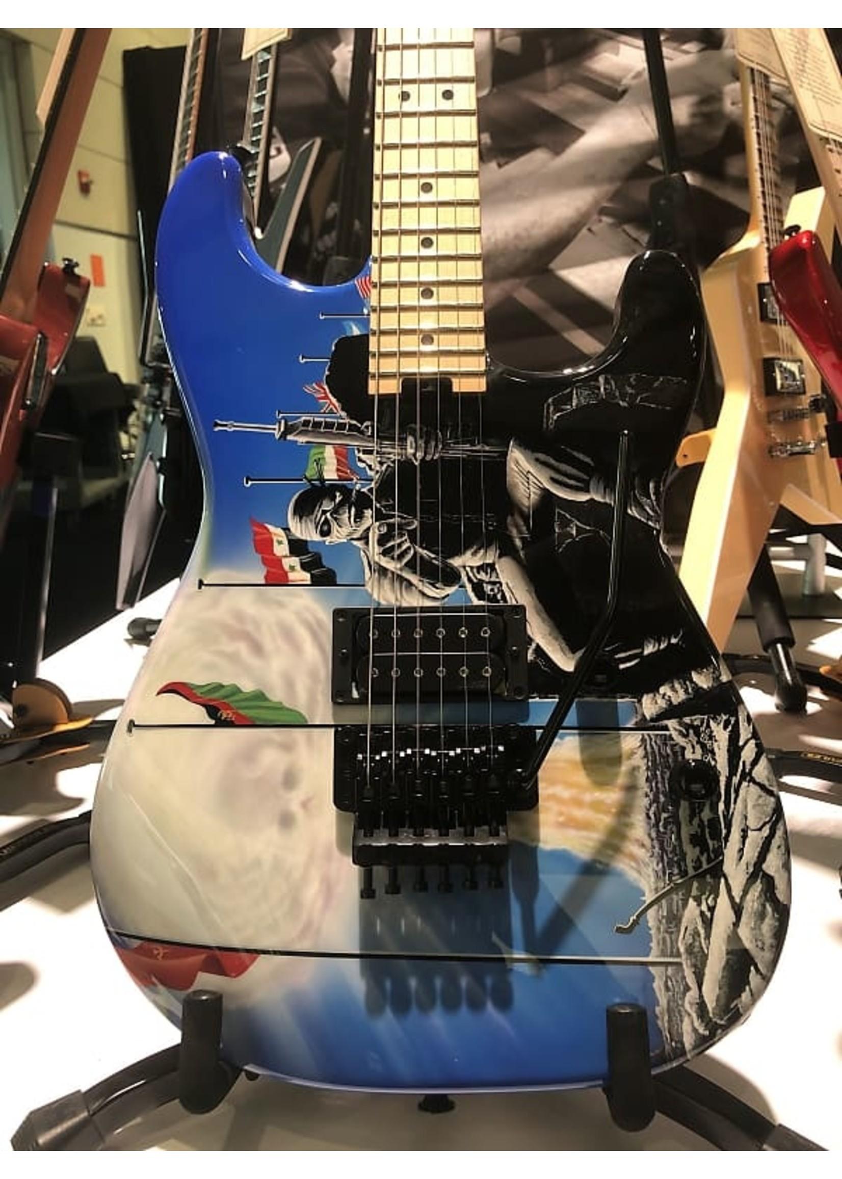 Jackson Jackson Custom Shop Adrian Smith 2 Minutes to Midnight Guitar