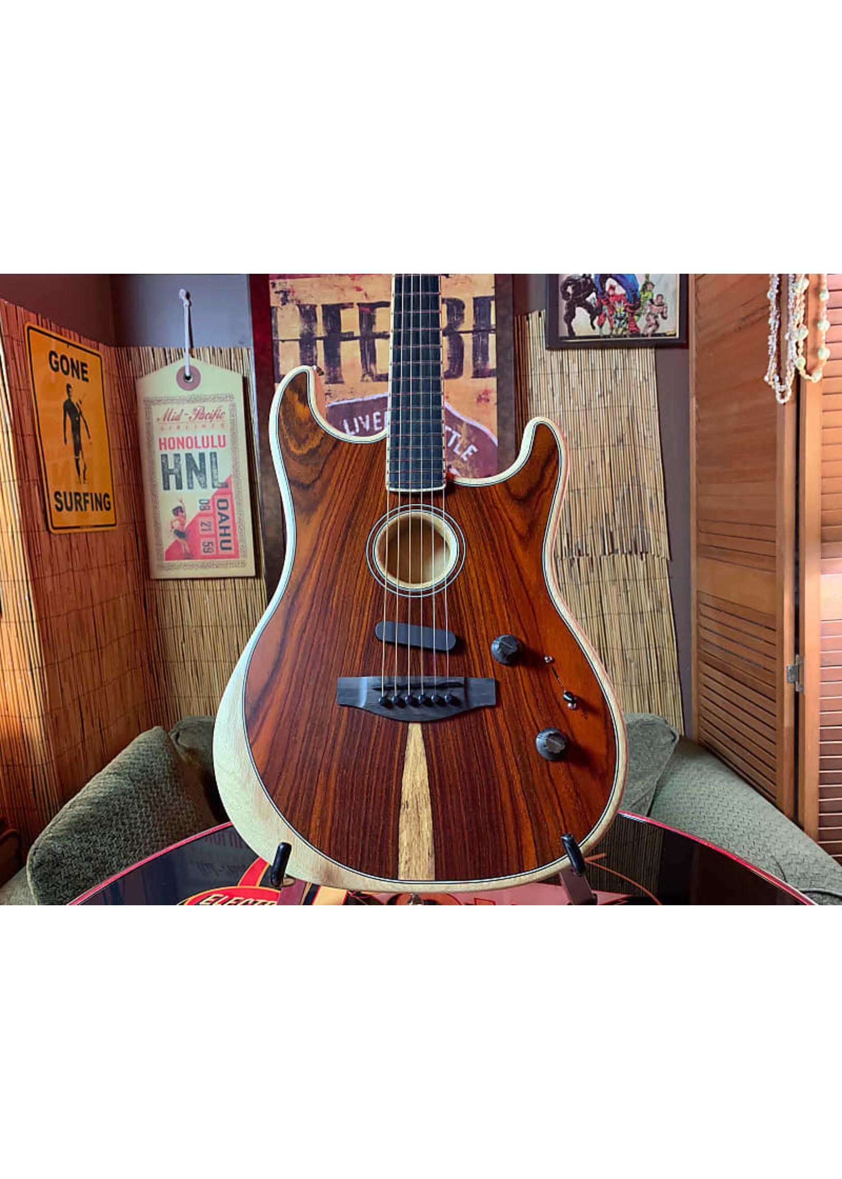Fender Fender American Acoustasonic Stratocaster Cocobolo