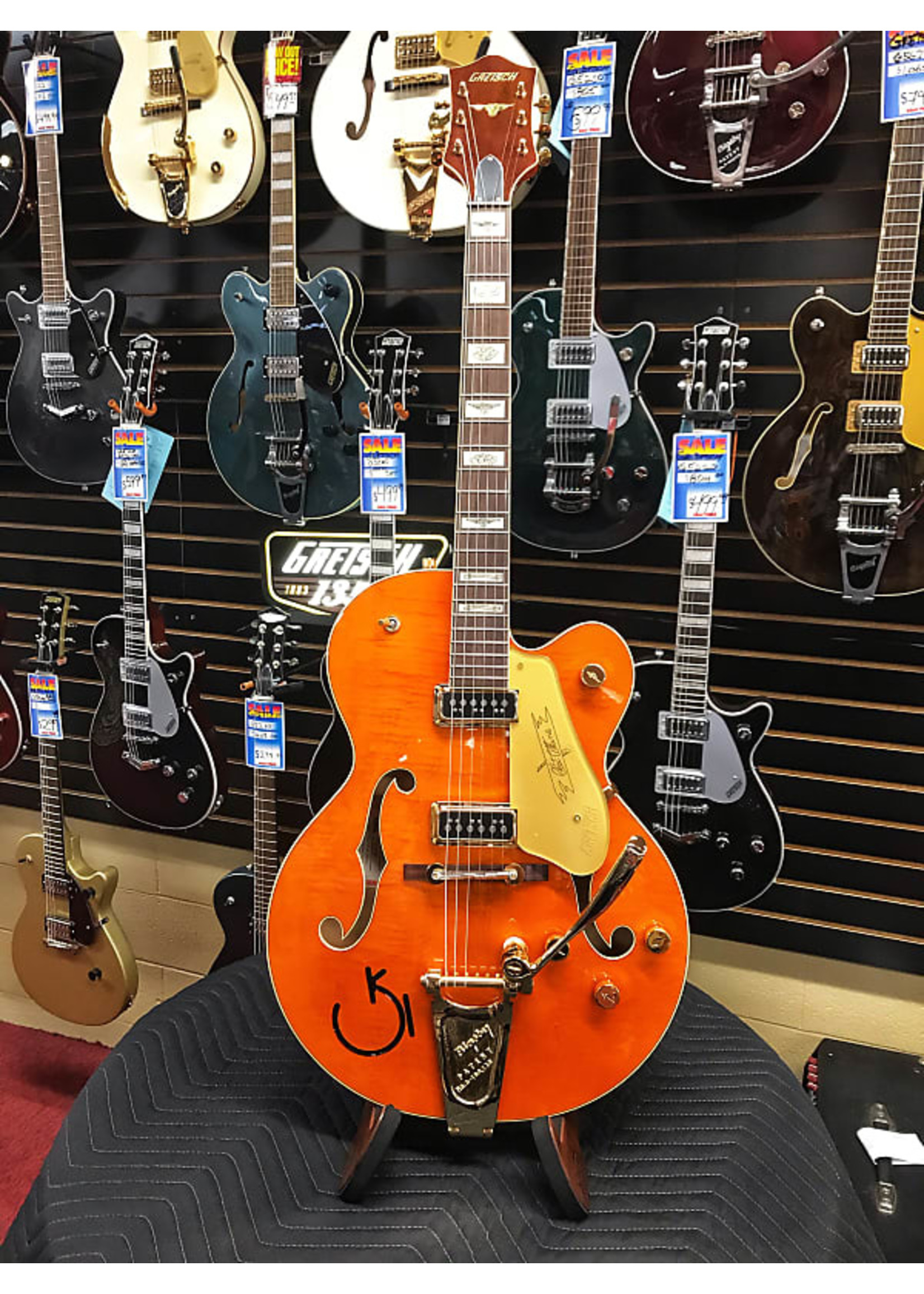Gretsch Gretsch G6120T-55 Vintage Select Edition '55 Chet Akins Hollow Body with Bigsby