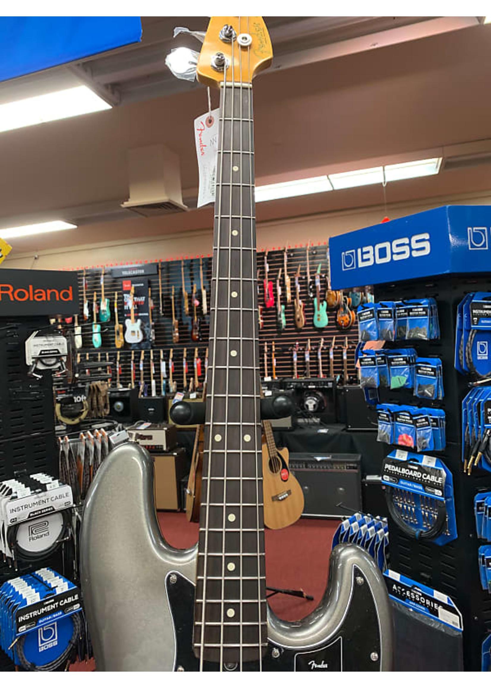Fender Fender American Professional II Jazz Bass - Mercury with Rosewood Fingerboard
