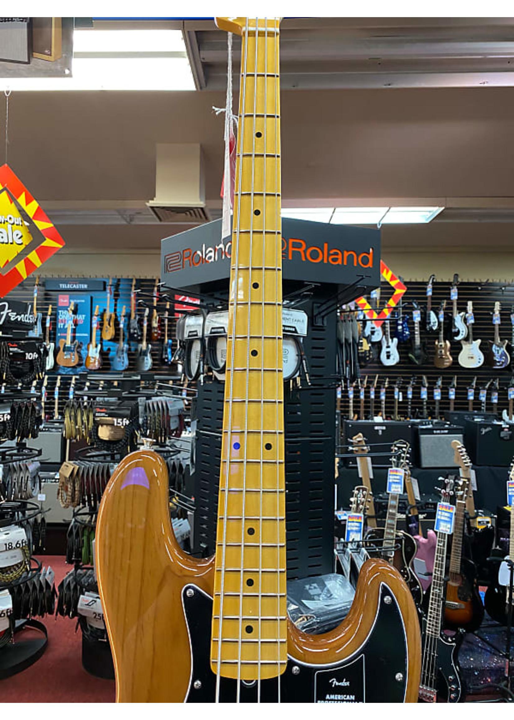 Fender Fender American Professional II Jazz Bass®, Maple Fingerboard, Roasted Pine