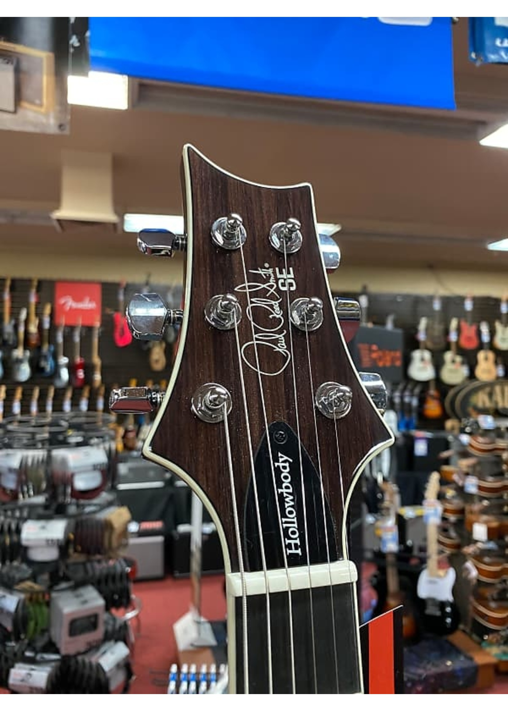 Paul Reed Smith Paul Reed Smith SE Hollowbody II Electric Guitar - Tri-Color Sunburst