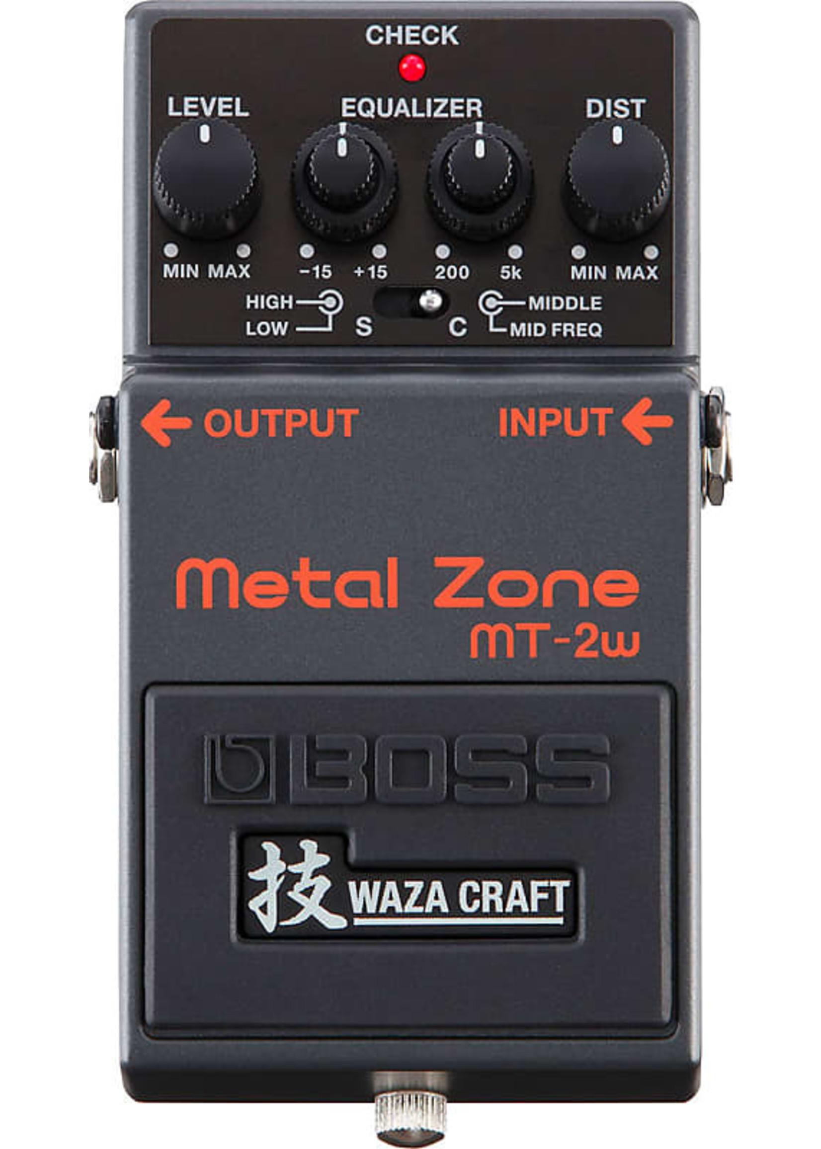 Boss Boss MT-2w Metal Zone Waza Craft