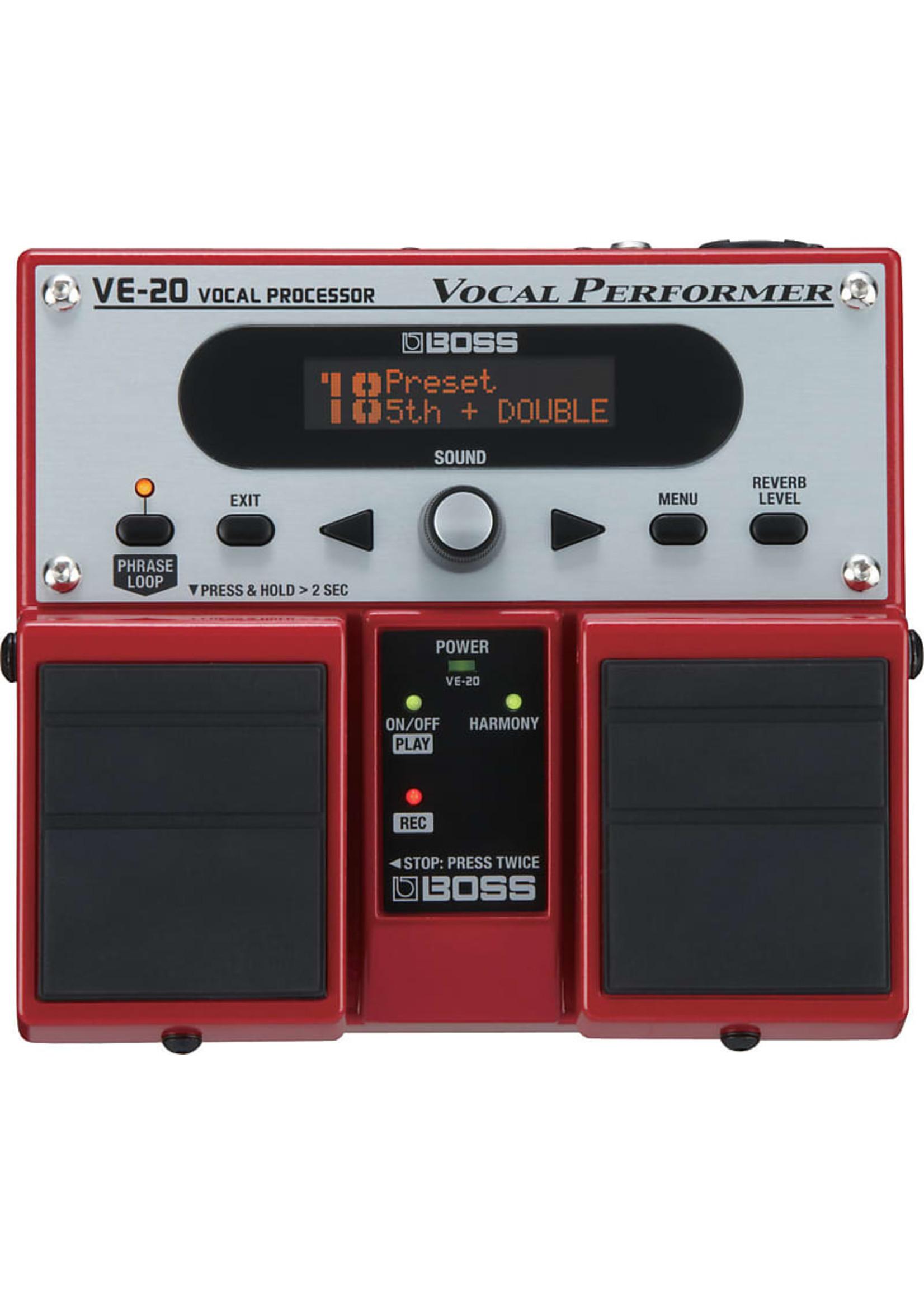 Boss Boss VE-20  Vocal Performer Pedal