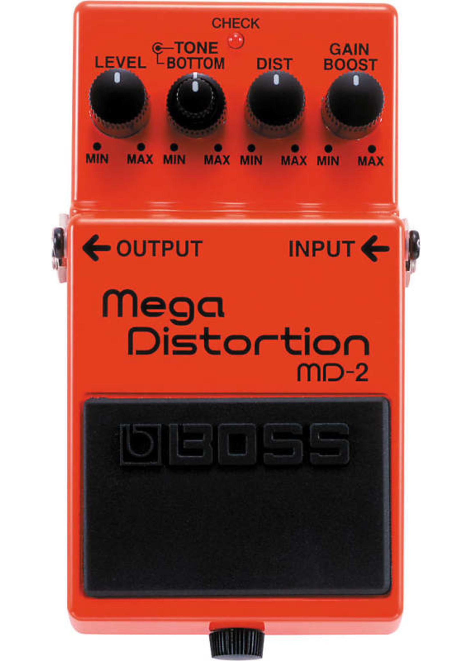 Boss Boss MD-2 Mega Distortion Pedal