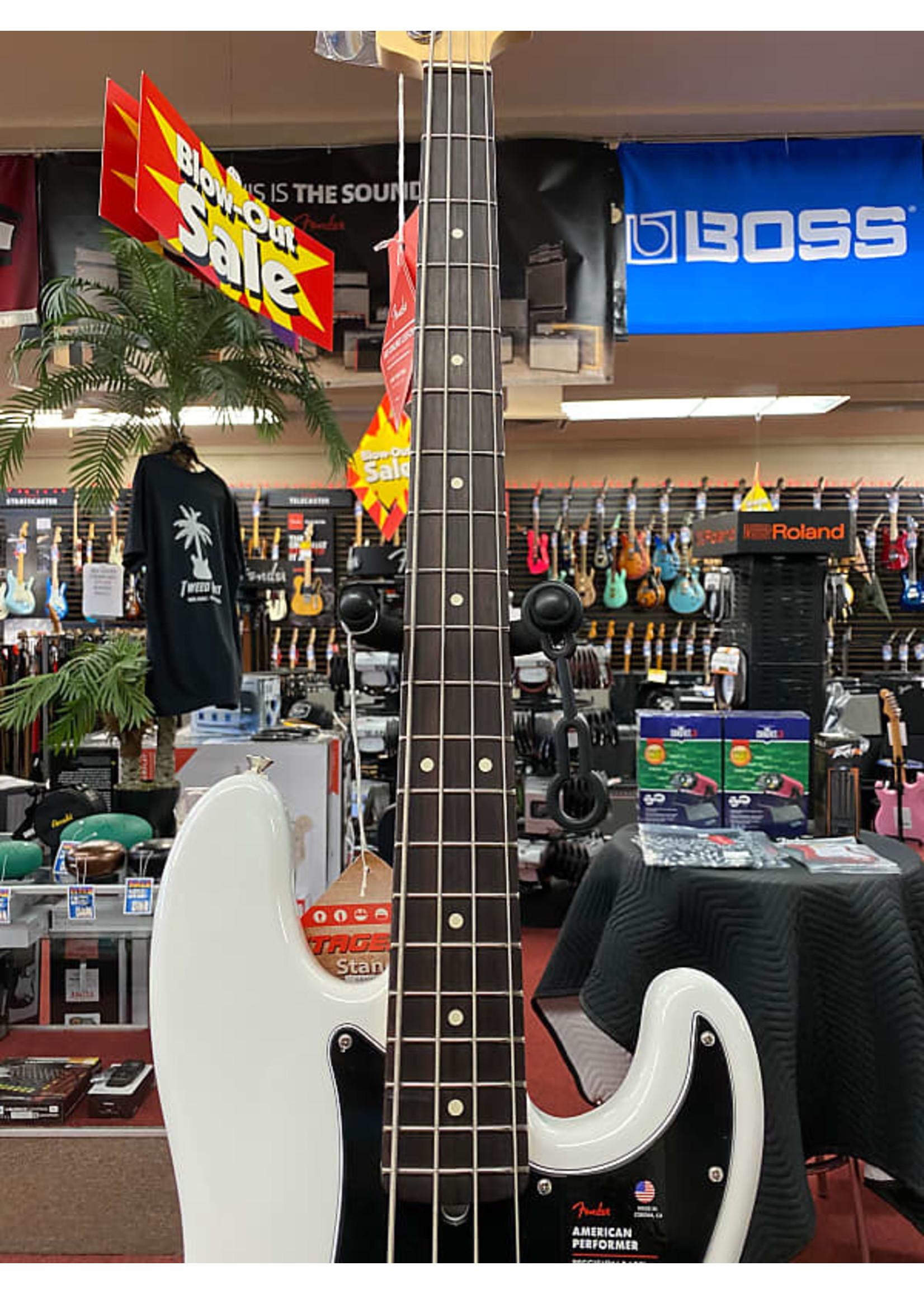 Fender Fender American Performer Precision Bass®, Rosewood Fingerboard, Artic White