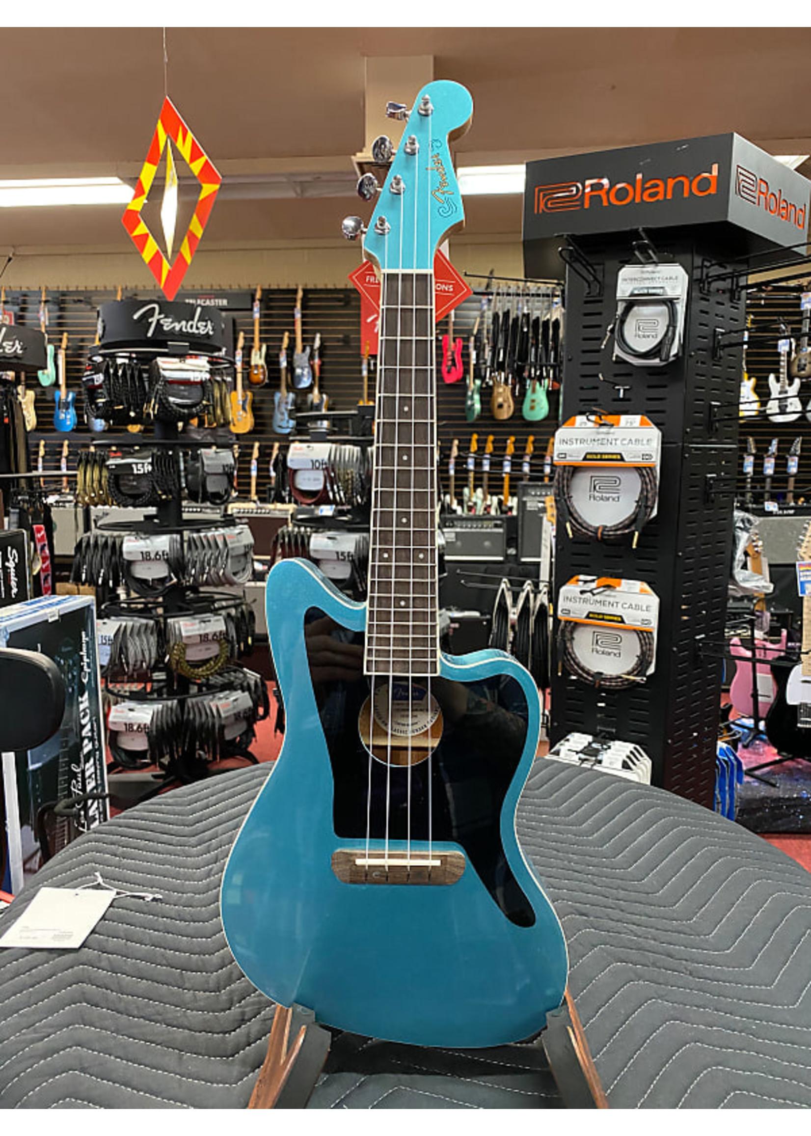 Fender Fender Fullerton Jazzmaster® Uke, Tidepool
