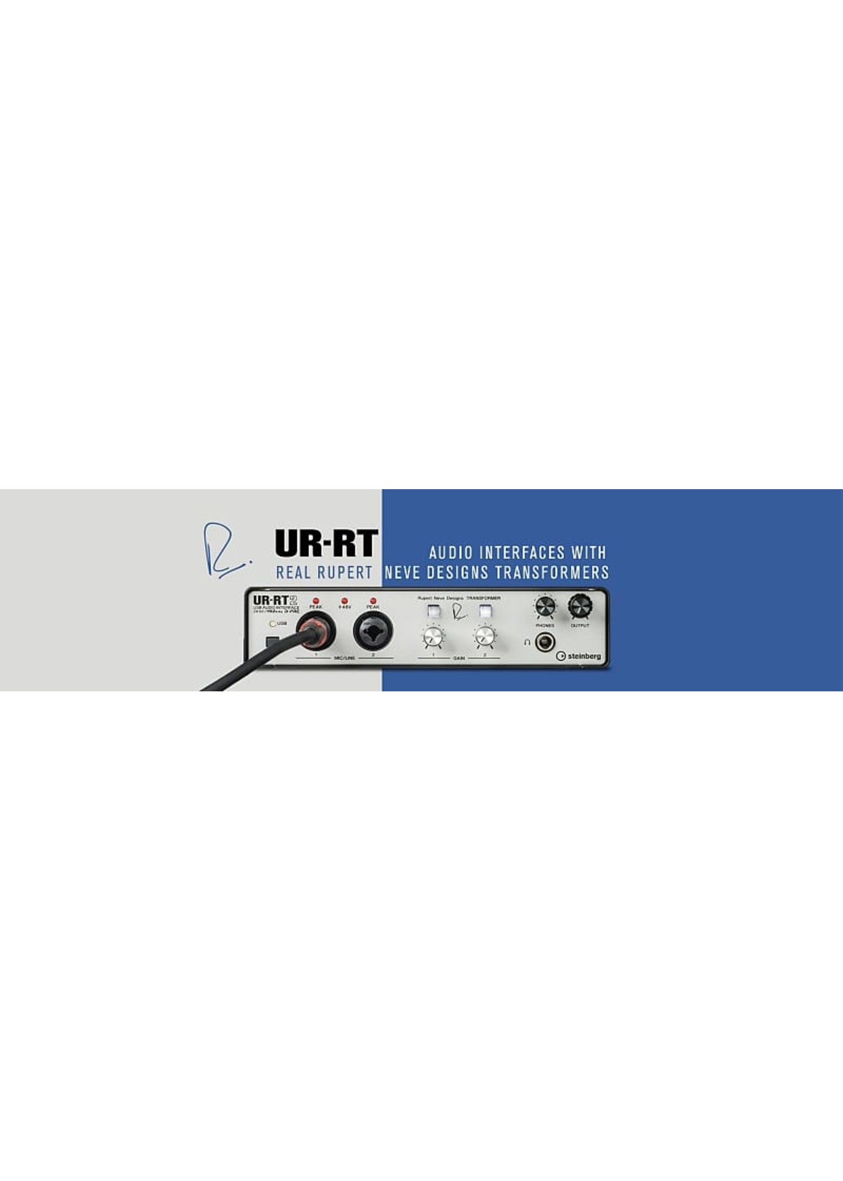 Steinberg Steinberg UR-RT2  USB 2.0 Audio Interface with 2 Rupert Neve Transformers