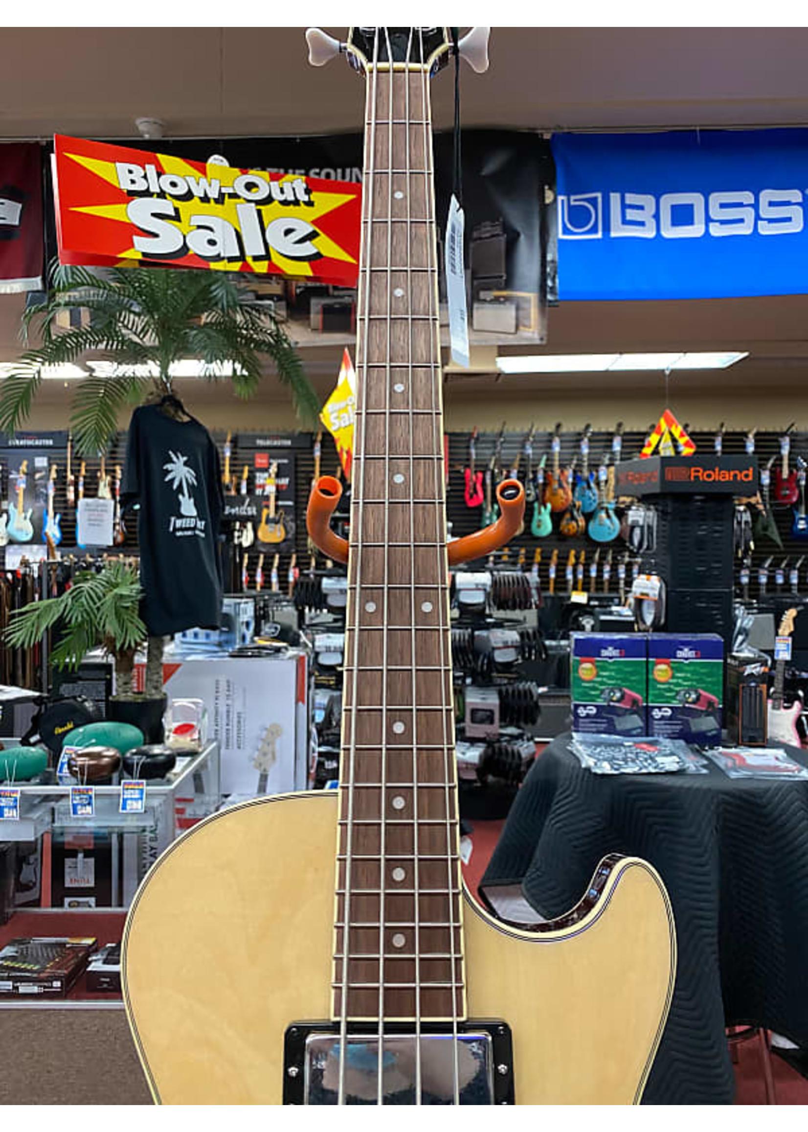 Ibanez Ibanez AGB200 Semi-Hollow Bass Guitar - Natural