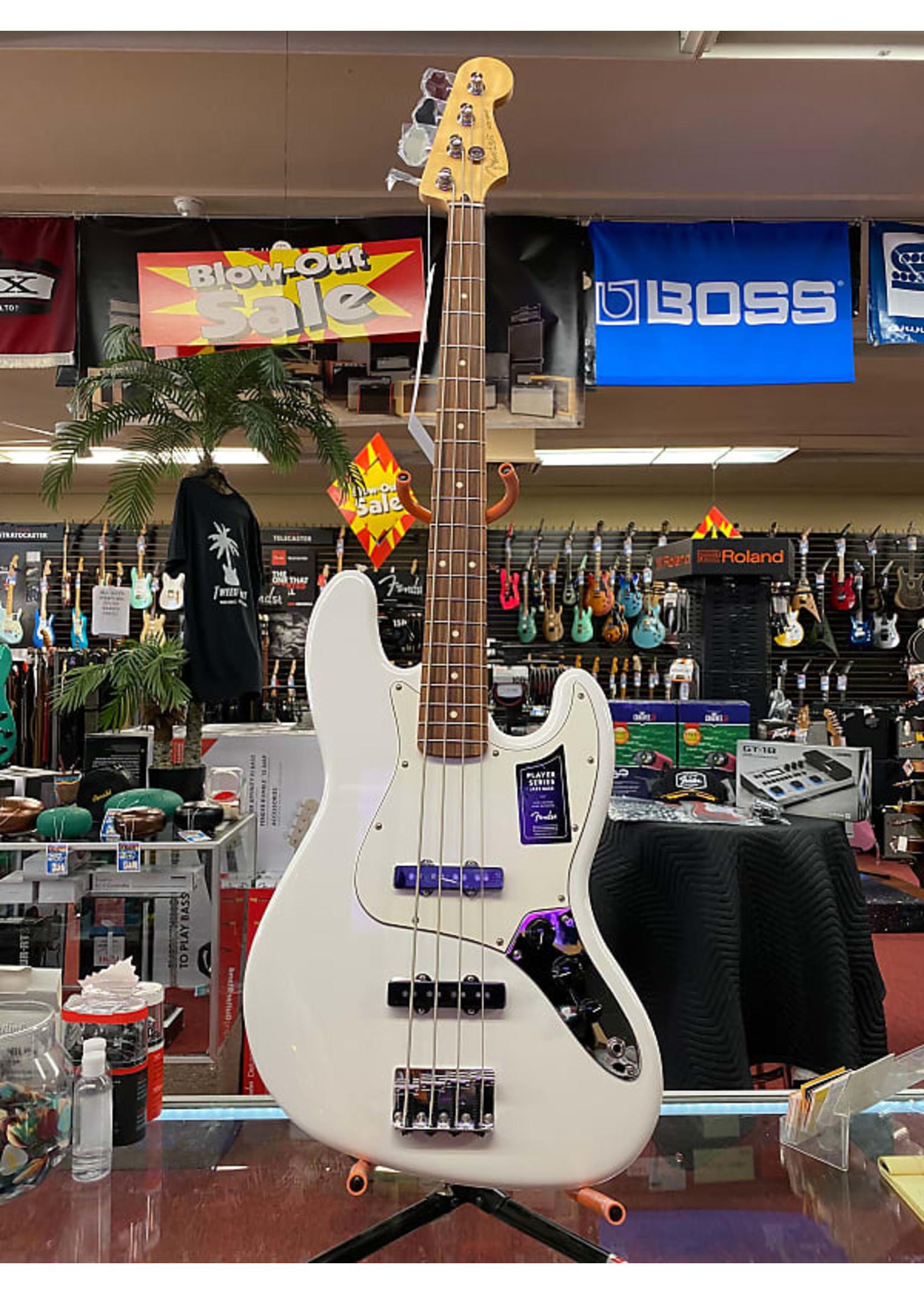 Fender Fender Player Jazz Bass®, Pau Ferro Fingerboard, Polar White