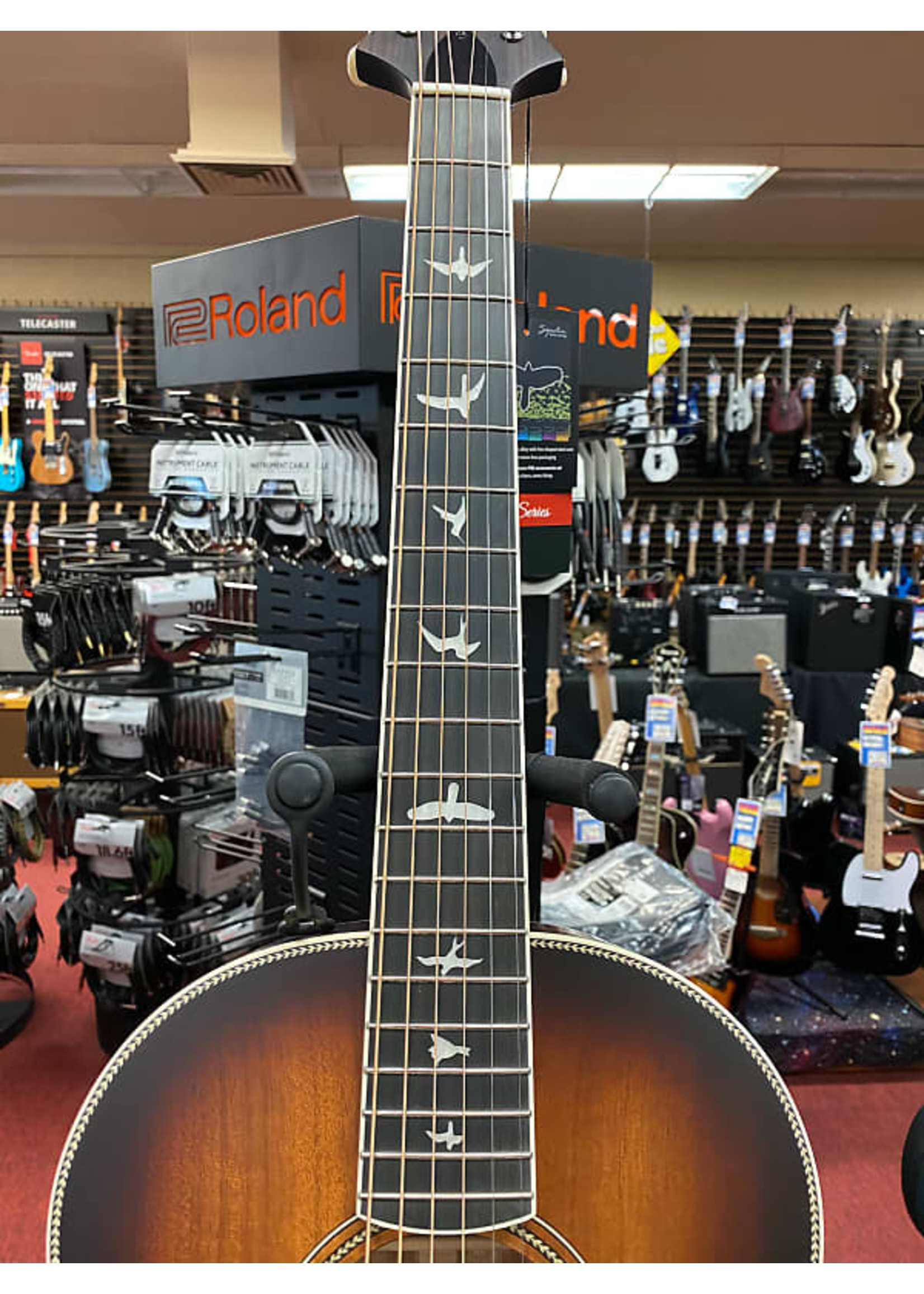 Paul Reed Smith Paul Reed Smith SE Parlor P20 Acoustic Guitar - Tobacco Sunburst