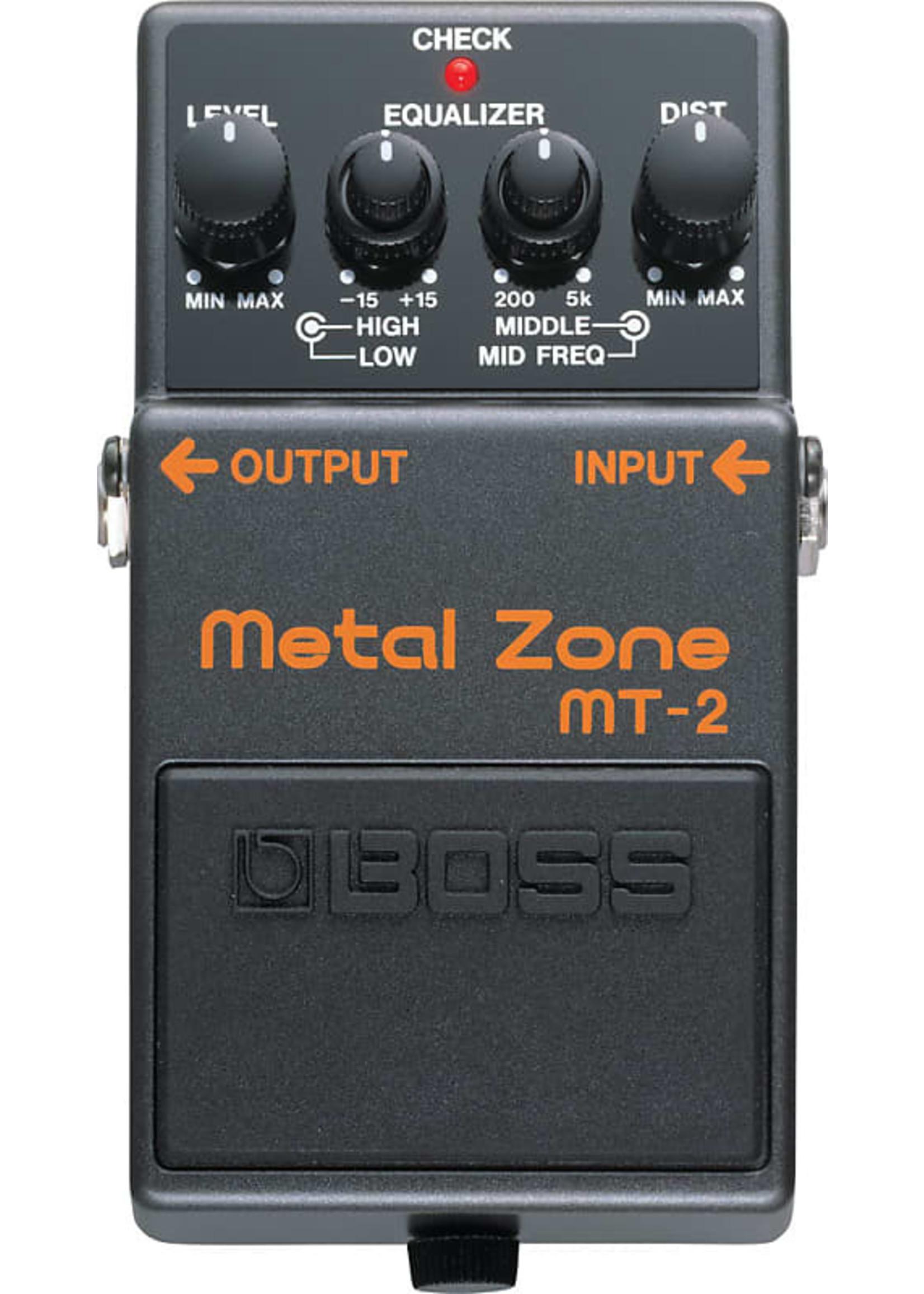 Boss Boss MT-2 Metal Zone Distortion