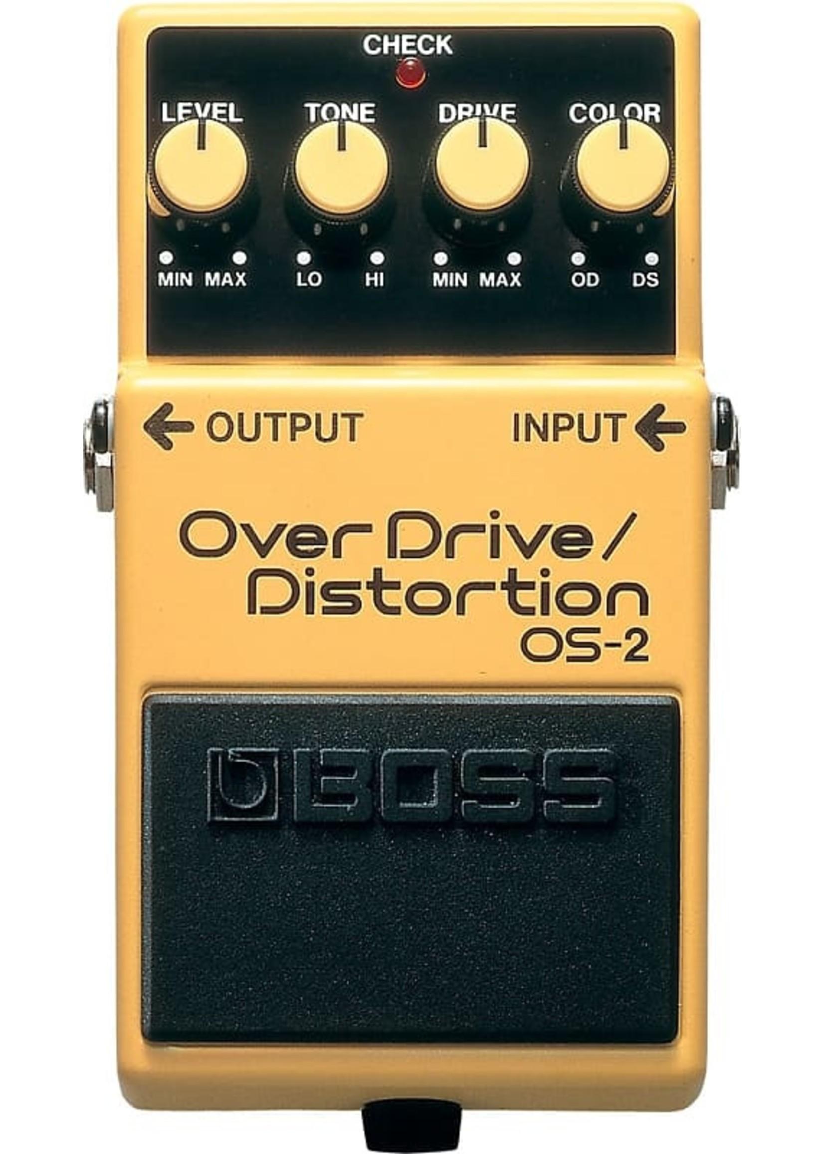 Boss Boss OS-2 Overdrive/Distortion Pedal
