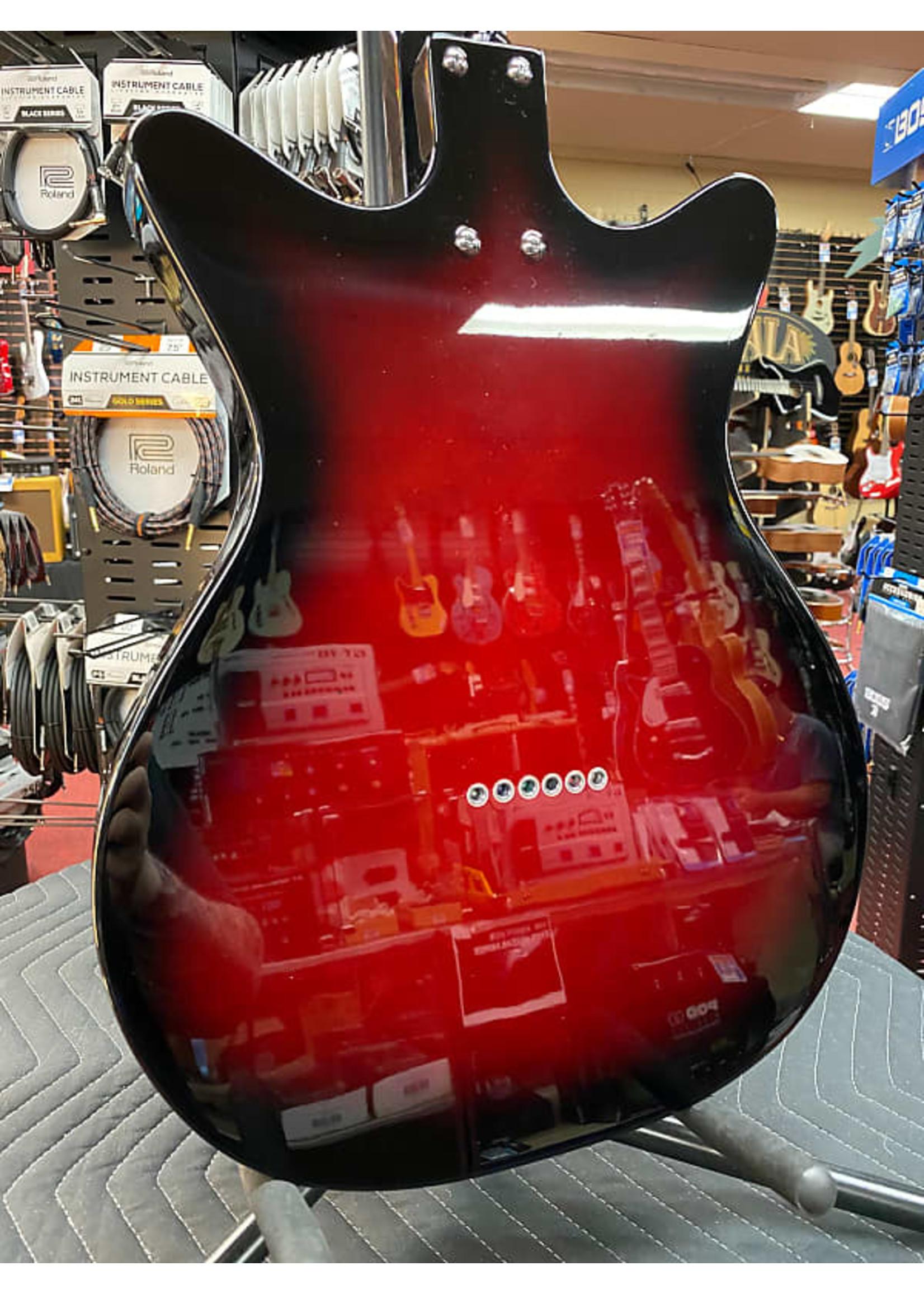 Danelectro Danelectro 59X12 in Red Burst