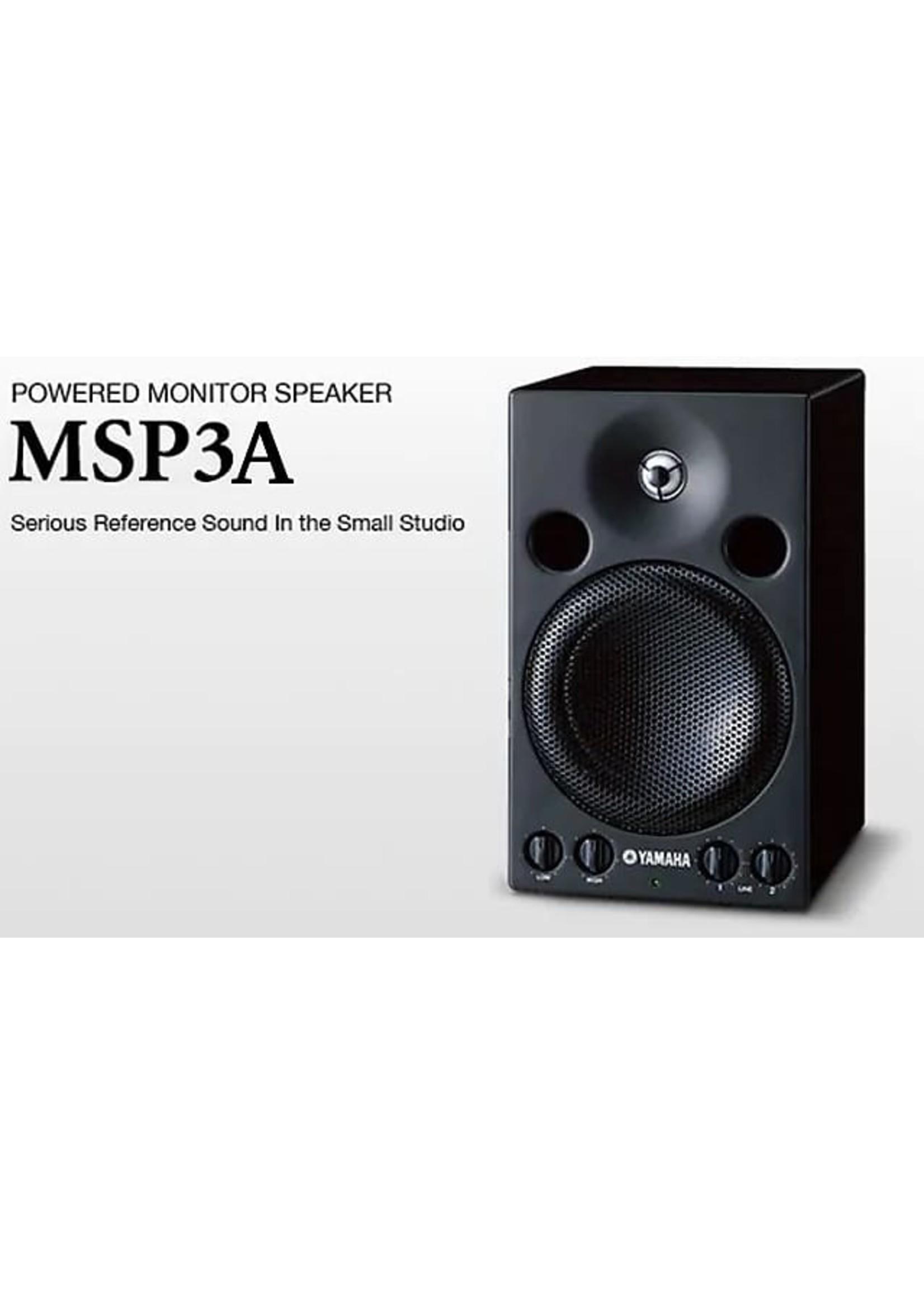 Yamaha Yamaha MSP3A 4 inch Powered Studio Monitor
