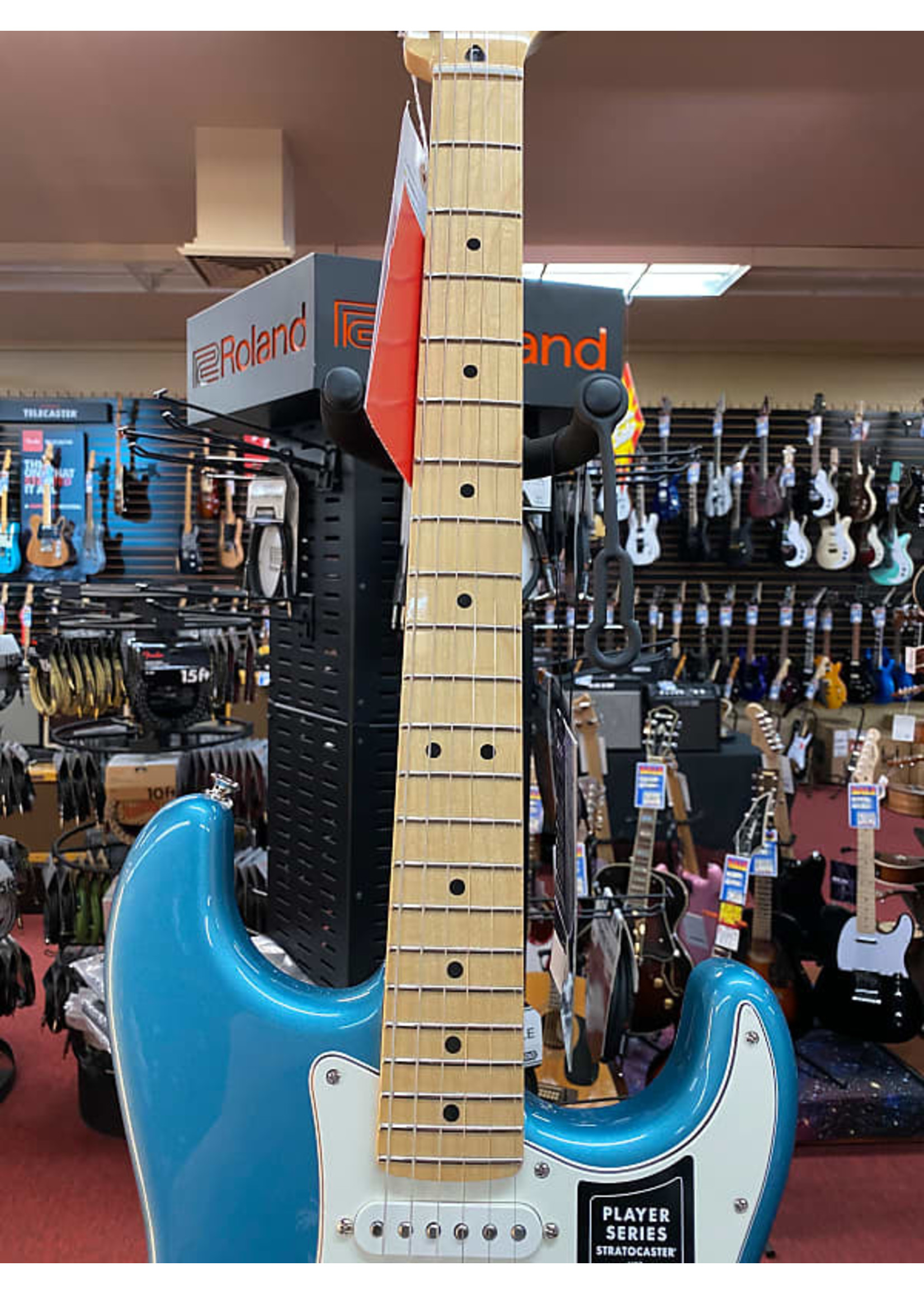 Fender Fender Player Stratocaster® HSS, Maple Fingerboard, Tidepool