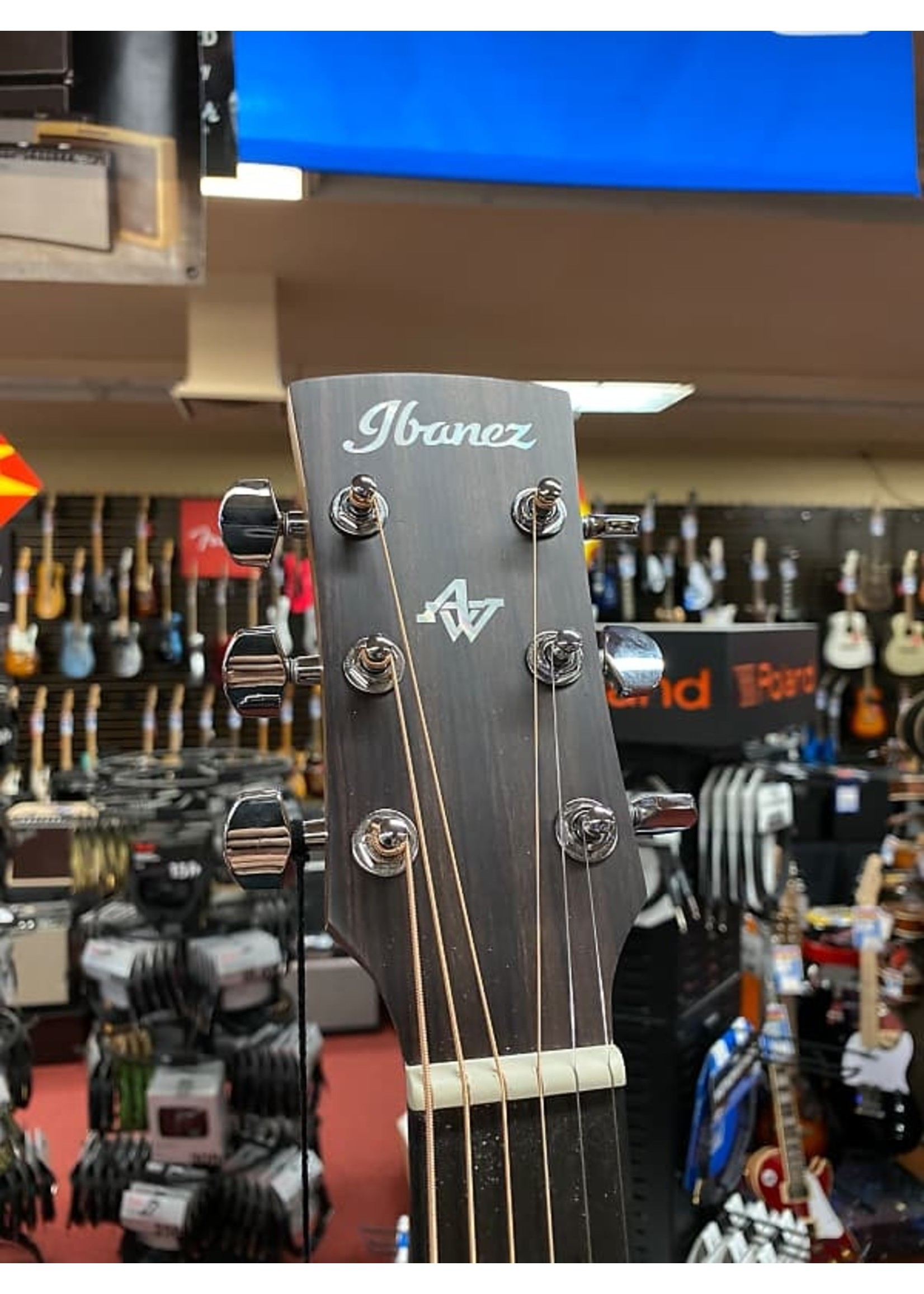 Ibanez Ibanez AW54CE Acoustic-Electric Guitar - Open Pore Natural