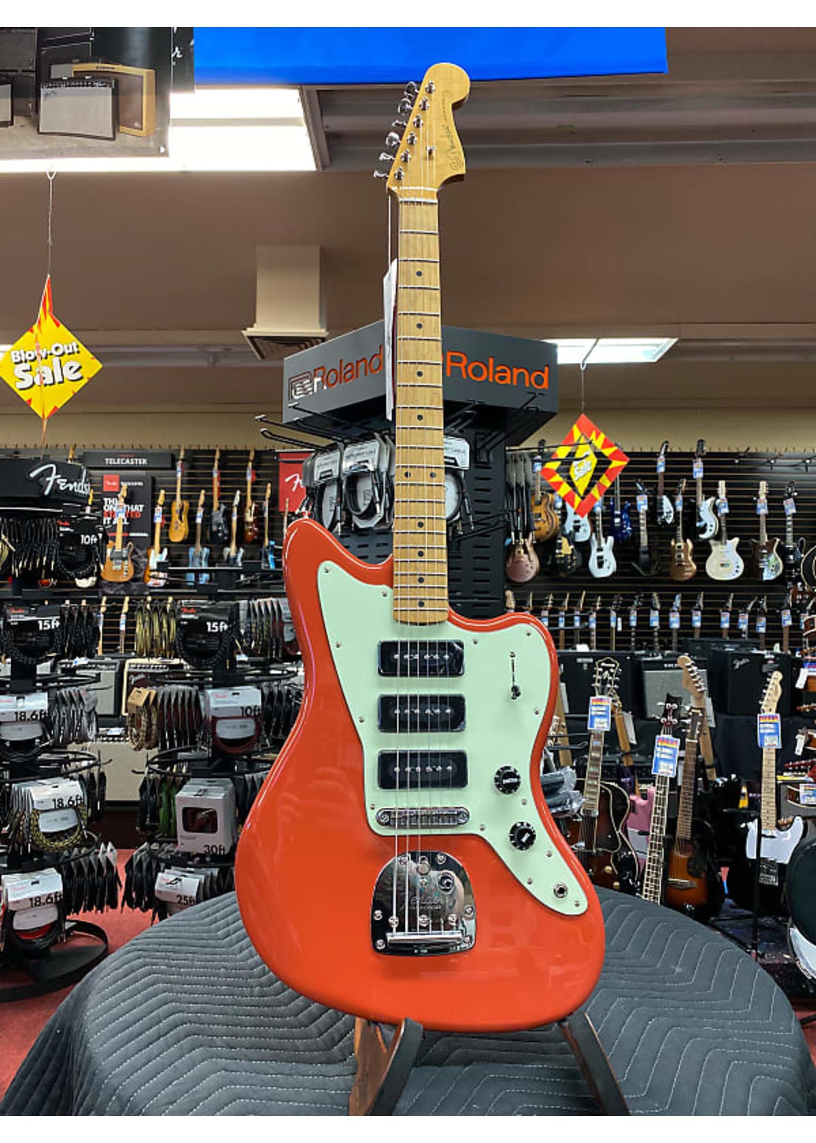 Fender Fender Noventa Jazzmaster Maple Neck Fiesta Red