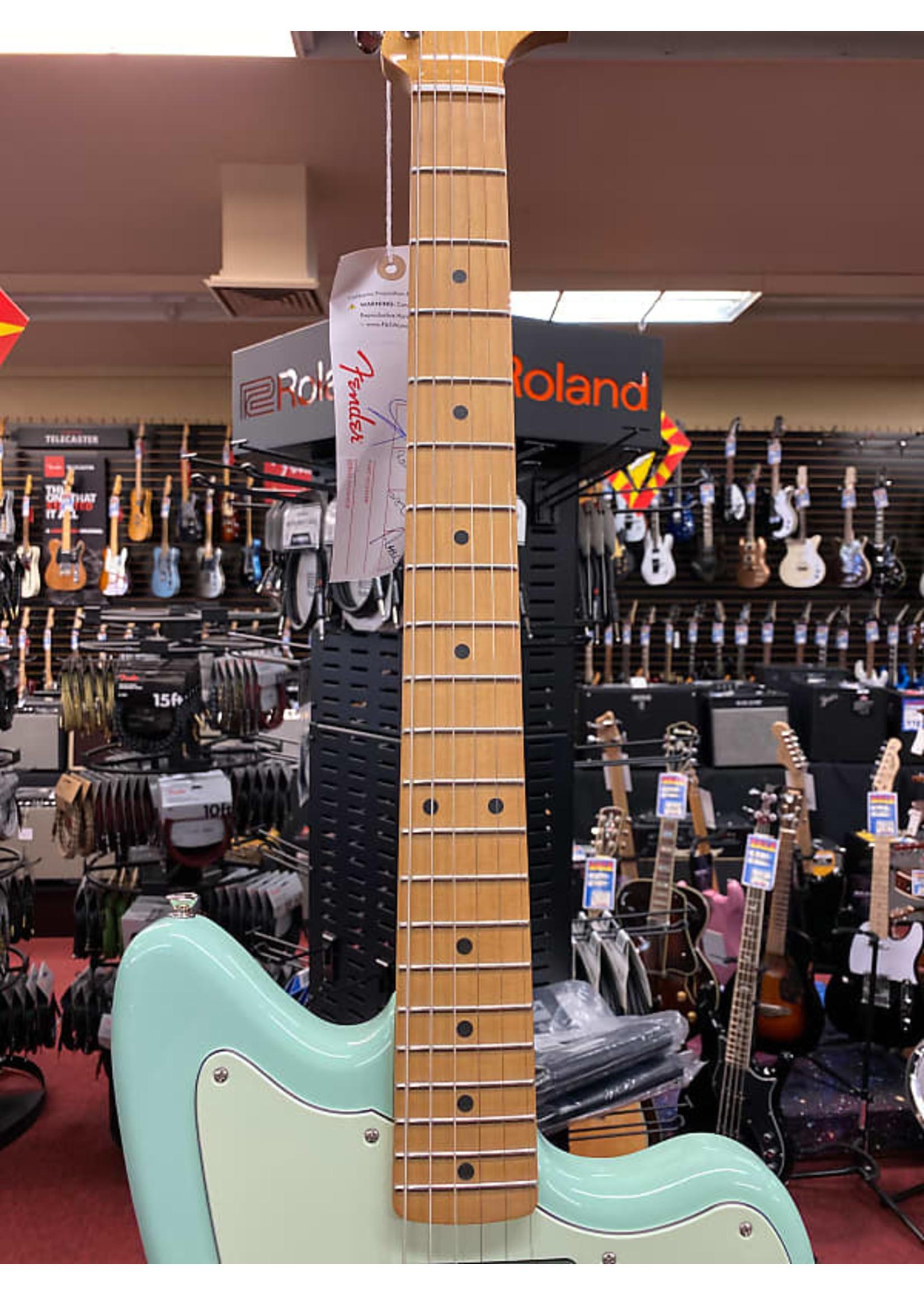 Fender Fender Noventa Jazzmaster Maple Neck Surf Green