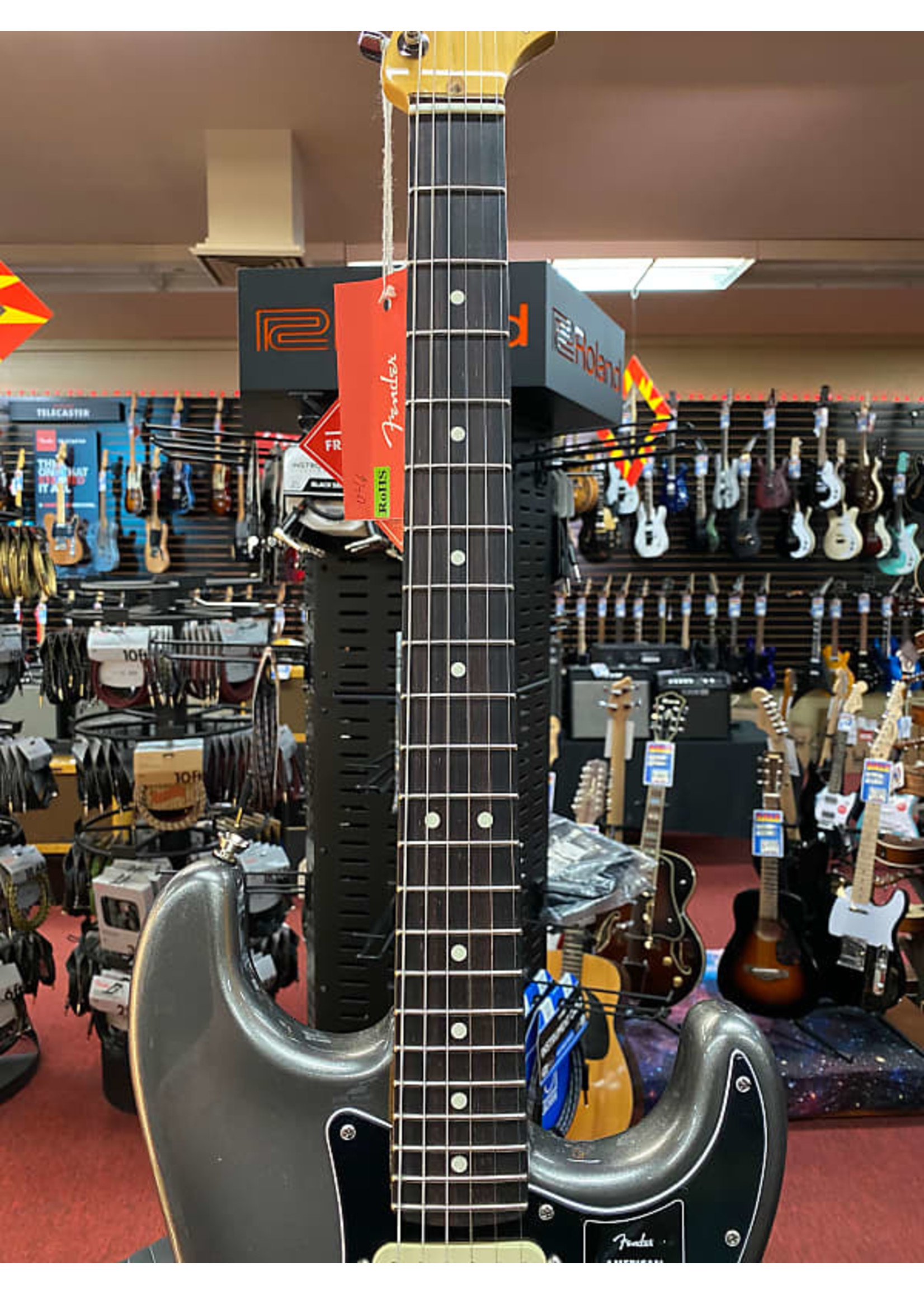 Fender Fender American Professional II Stratocaster® HSS, Rosewood Fingerboard, Mercury
