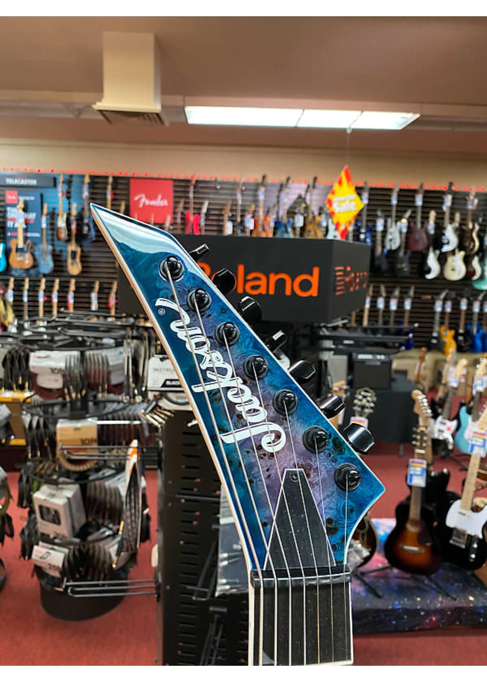 Jackson Jackson Pro Series Soloist™ SL7P HT MAH, Ebony Fingerboard, Northern Lights